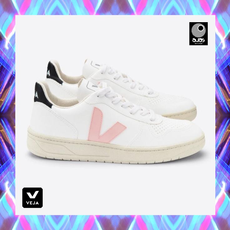 10.20.Veja shoes V 10 VEGAN WHITE PETALE 1
