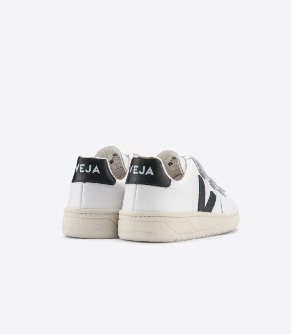 Veja Sneakers V LOCK LEATHER EXTRA WHITE BLACK 1 3