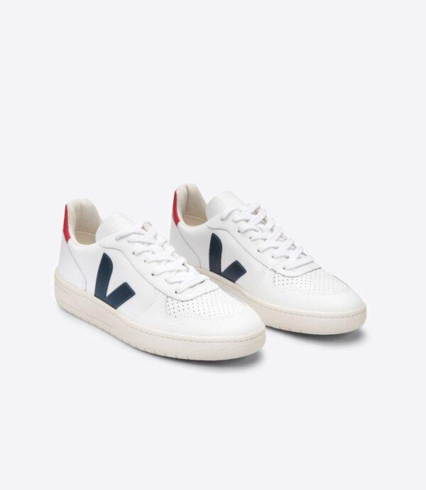 Veja shoes V 10 EXTRA WHITE NAUTICO PEKIN 2
