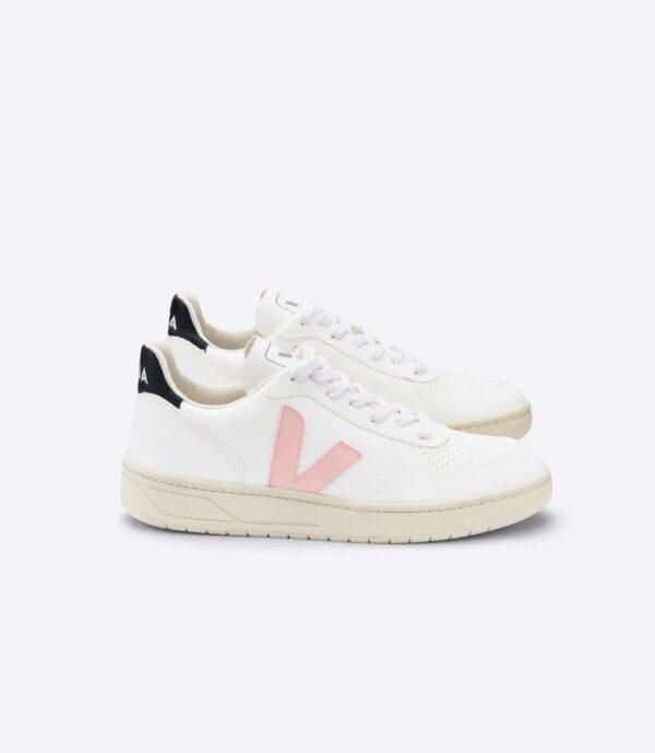 Veja shoes V 10 VEGAN WHITE PETALE 1