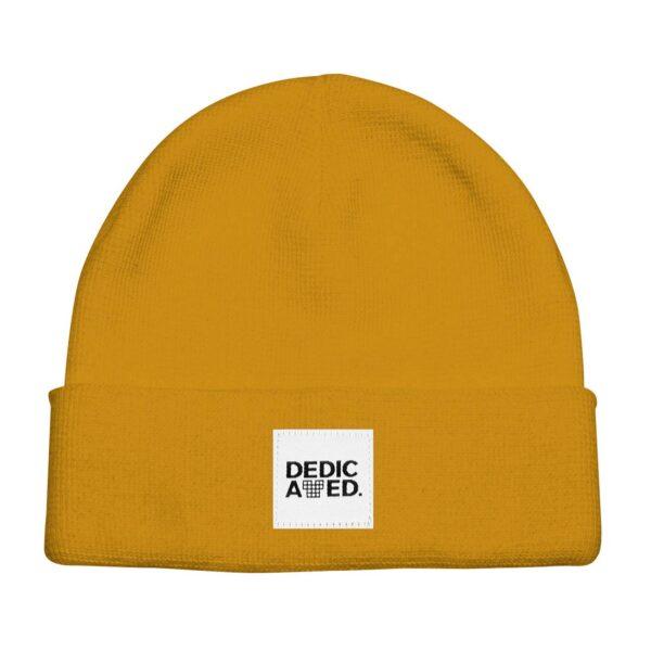 dedicated Beanie Kiruna Golden Yellow