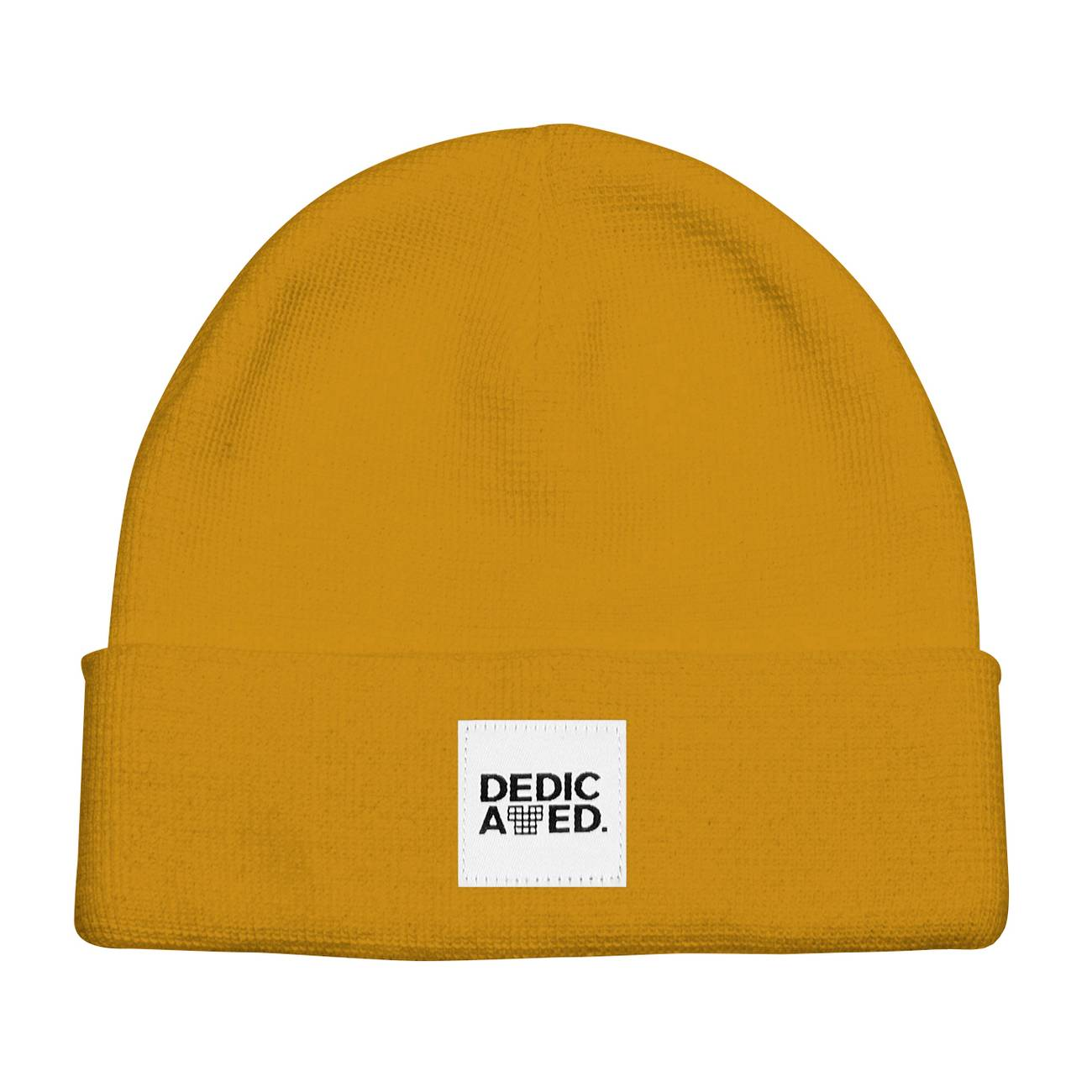 dedicated Beanie Kiruna Golden Yellow