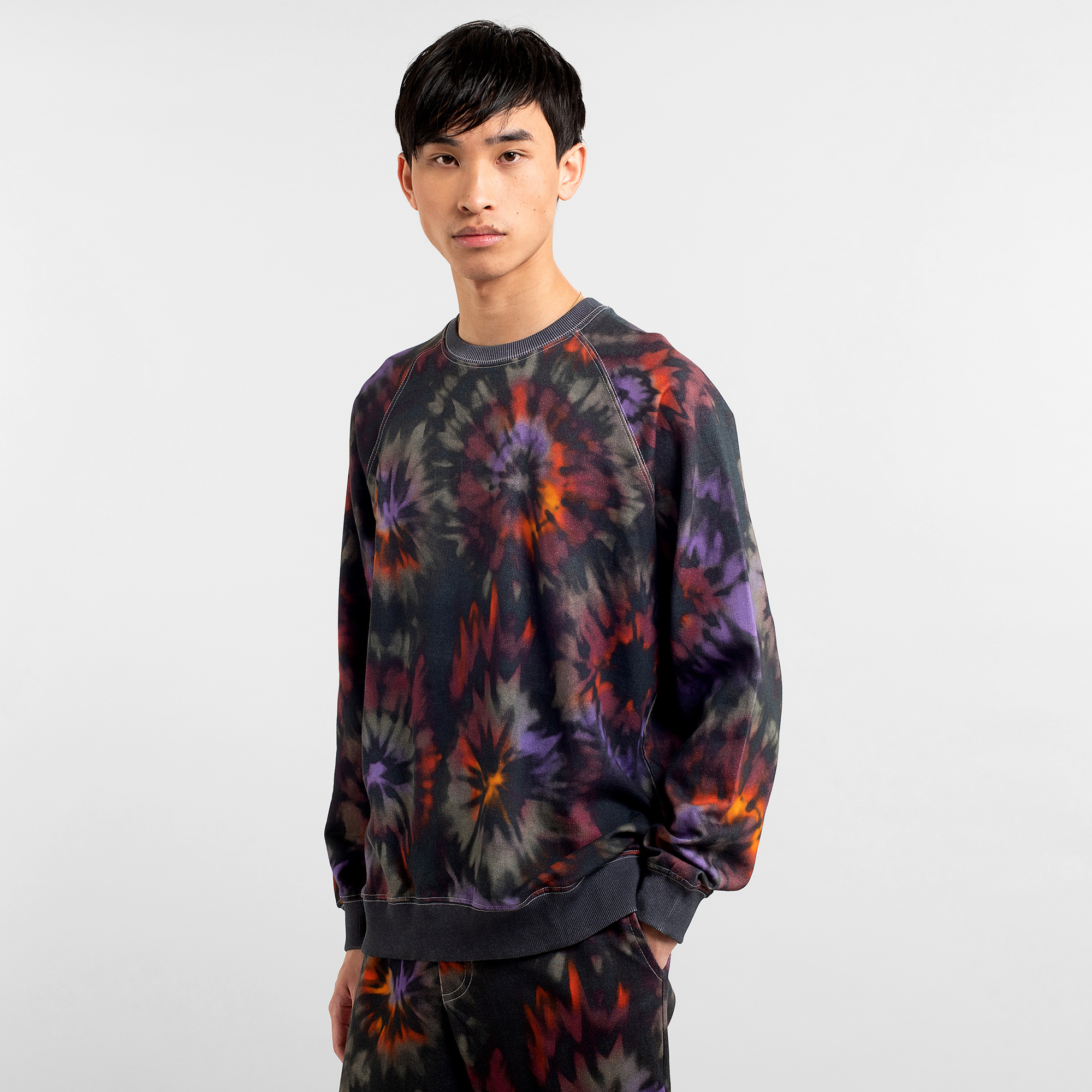 dedicated Sweatshirt Malmoe Tie Dye A