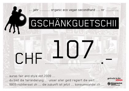 107.Gutschein