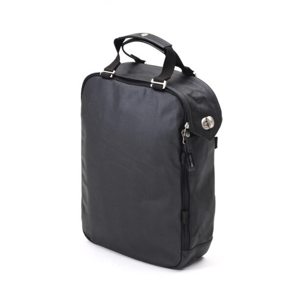 QWSTION DAYPACK ORGANIC JETBLACK 3D