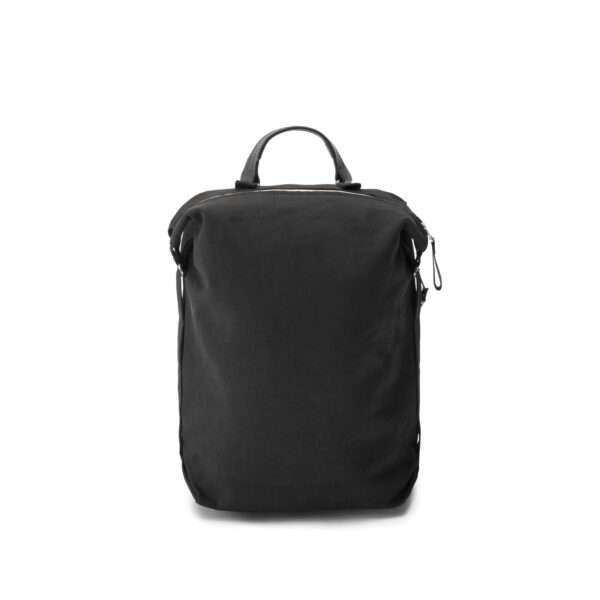 qwstion bananatex zip pack all black front