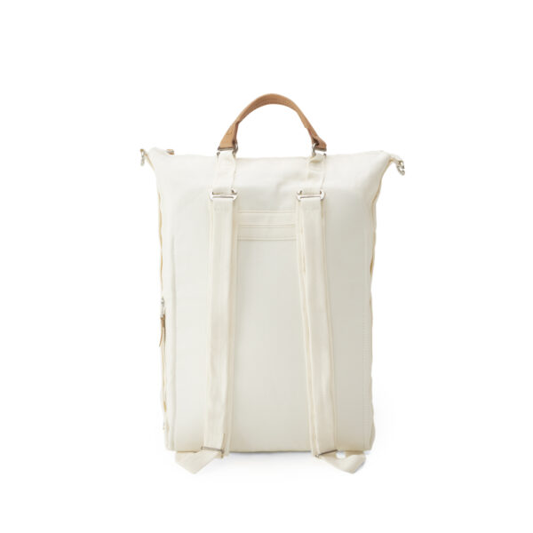 qwstion bananatex zip pack natural white back shopper