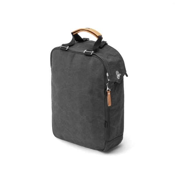 qwstion day pack organic washed black 3d