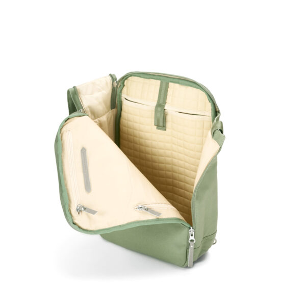 qwstion daypack organic moss open