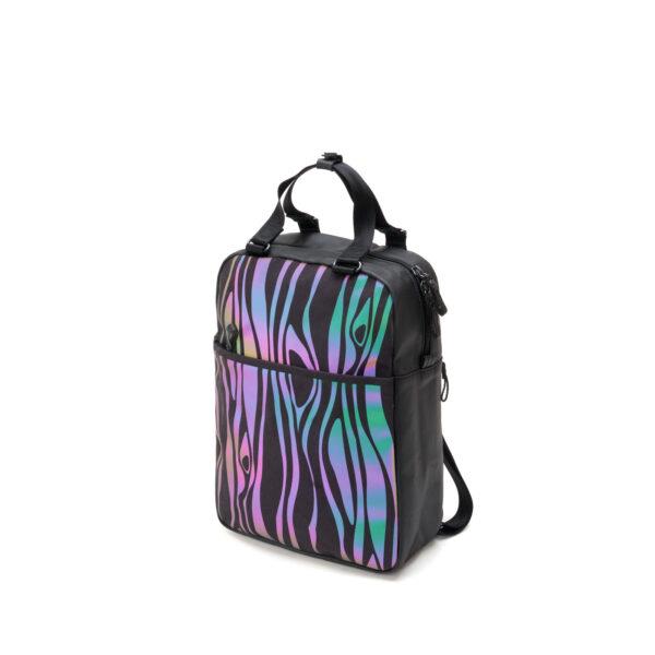 qwstion julian zigerli iridescent black small pack 3D flash