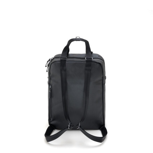 qwstion julian zigerli iridescent black small pack back