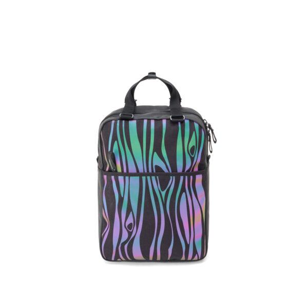 qwstion julian zigerli iridescent black small pack front flash