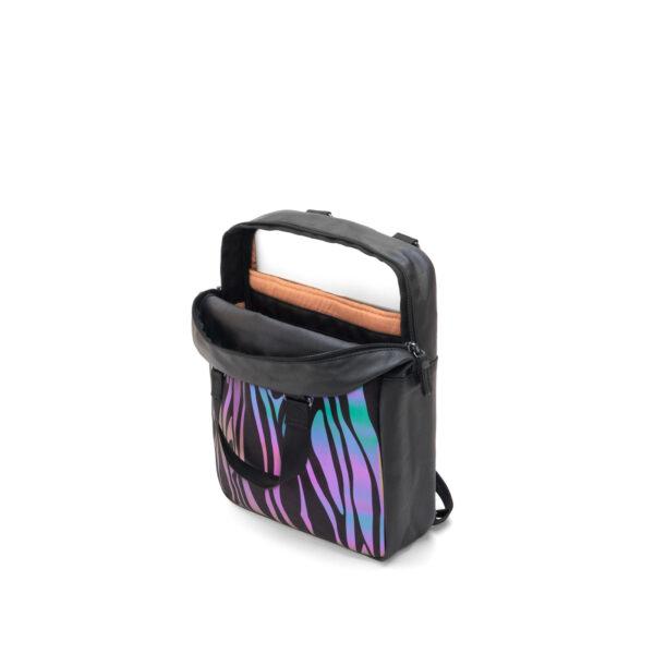 qwstion julian zigerli iridescent black small pack open flash