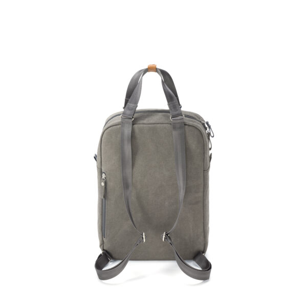 qwstion small pack organic washed grey back