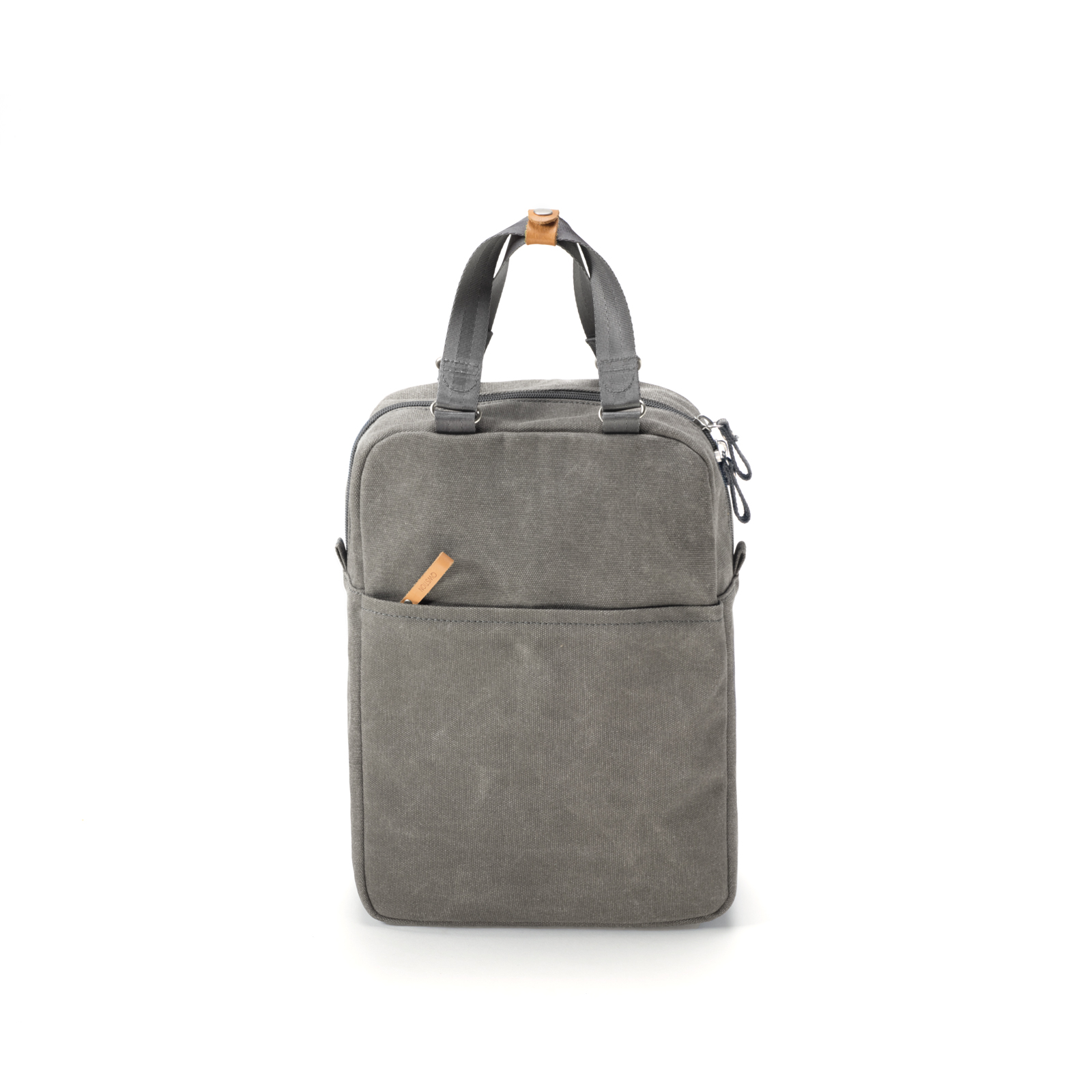 qwstion small pack organic washed grey front