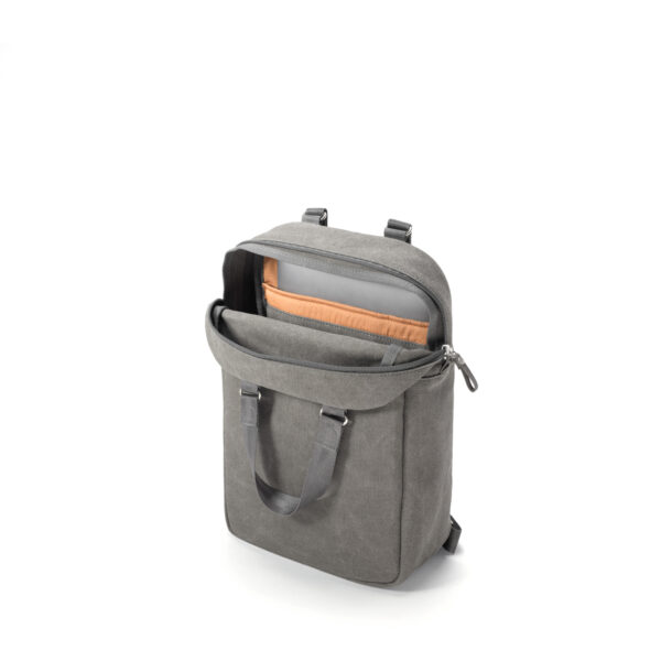 qwstion small pack organic washed grey open
