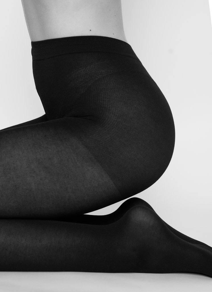 stina premium bio cotton tights black premium stockings swedish stockings