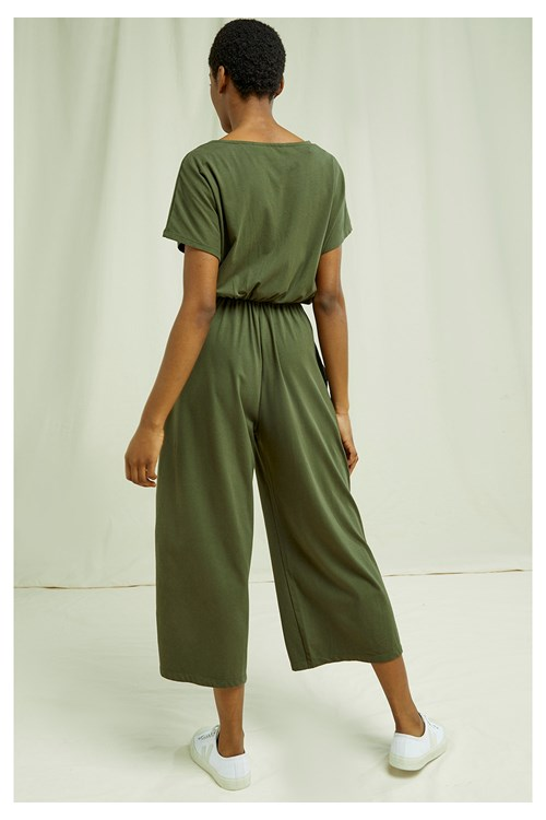 evelyn jumpsuit in khaki 827081973dcf