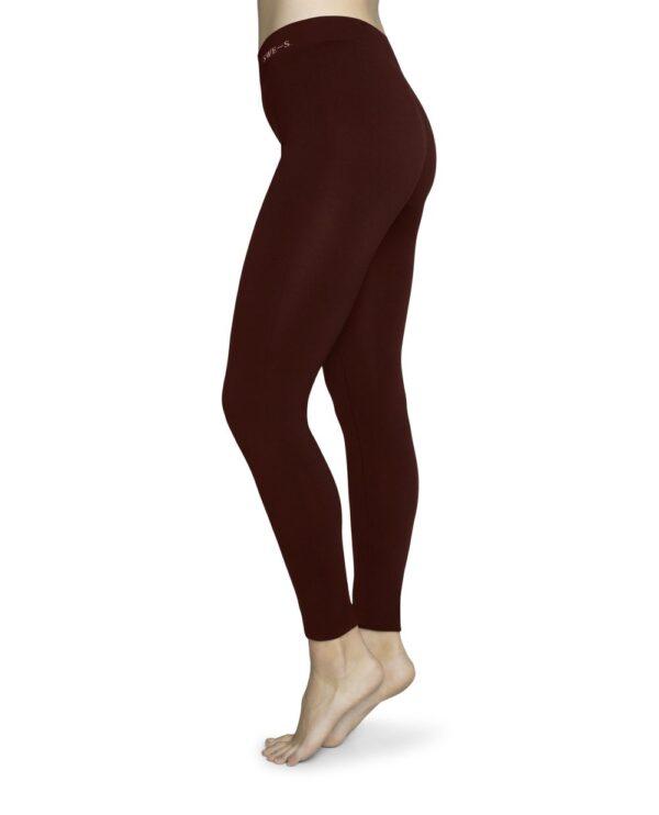 Gerda Legging wine Swedish Stockings