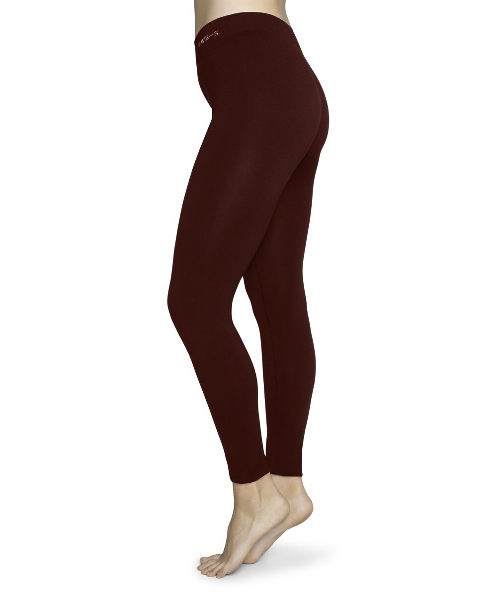 Gerda Legging wine Swedish Stockings