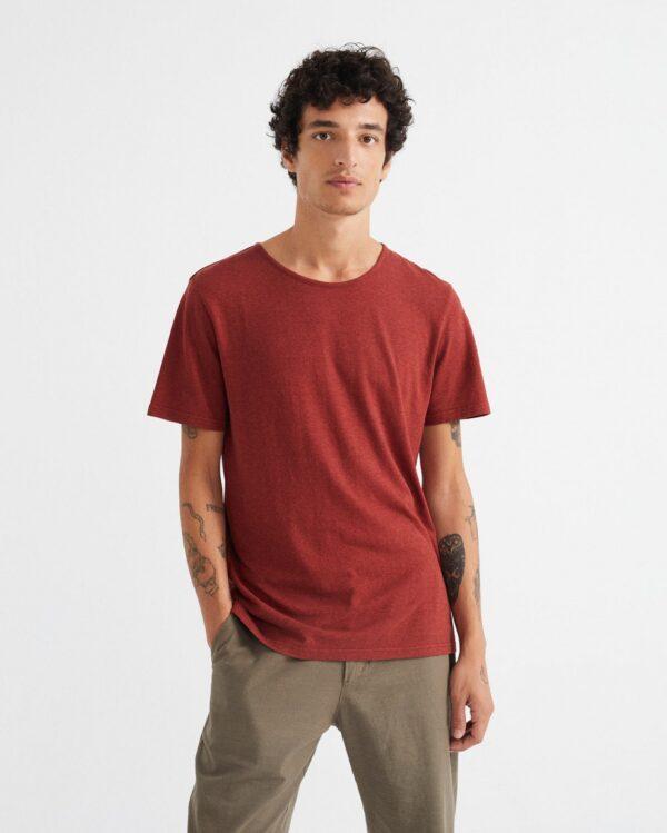 camiseta hemp teja 1