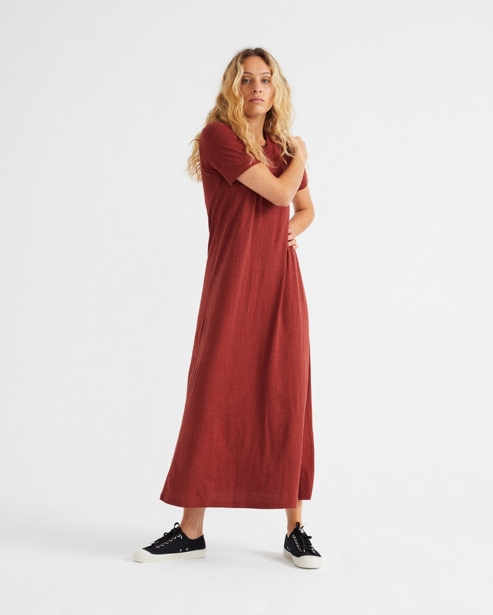 thinking mu hemp dress