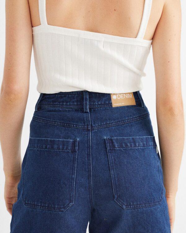 shorts gardenia hemp denim 1